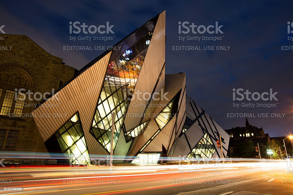 Royal Ontario Museum, Toronto stock photo