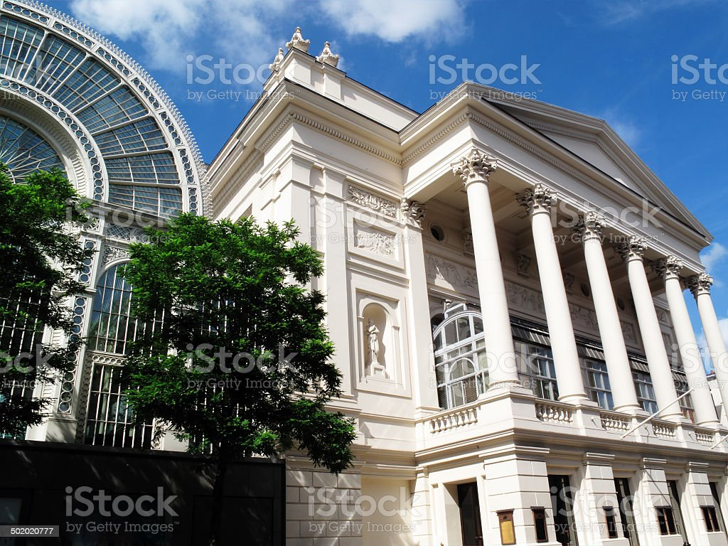 Royal Opera House stock photo