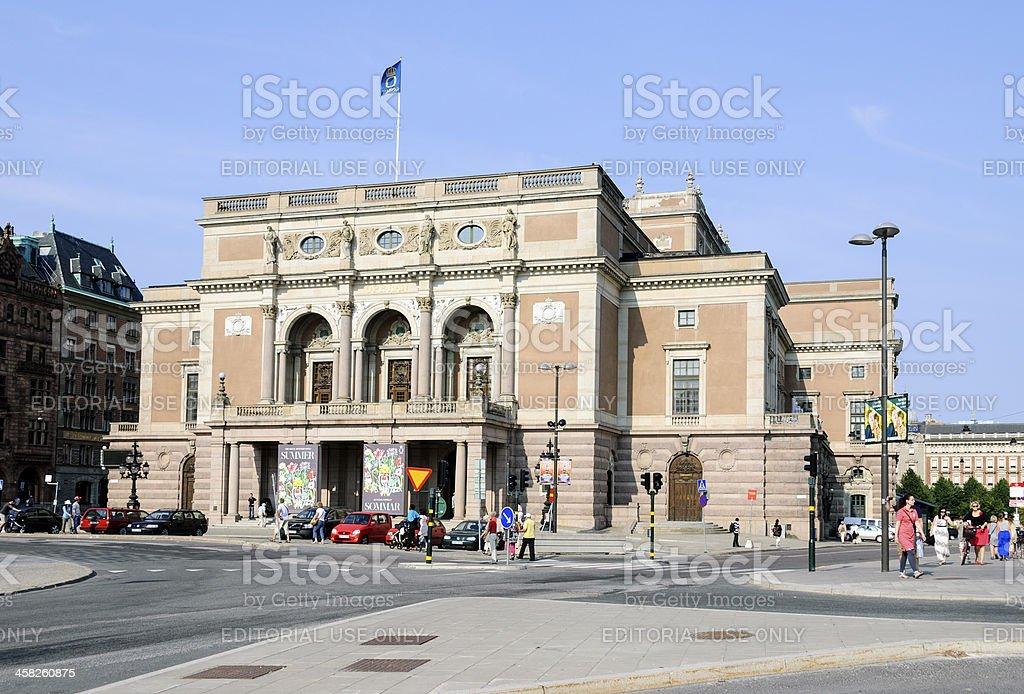 Royal Opera House - Stockholm, Sweden stock photo