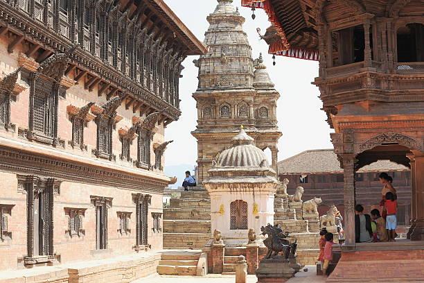 Royal Palace und Siddhi Lakshmi-Tempel. Bhaktapur – Nepal. 0238 – Foto