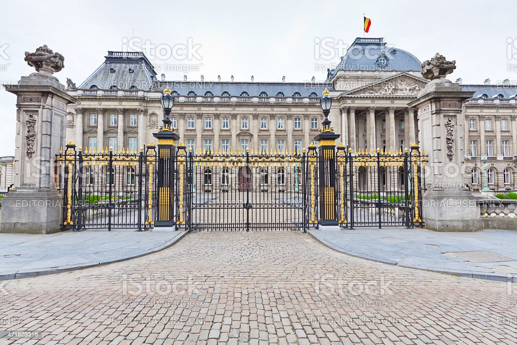 Royal Palace, Brussels. royalty-free stock photo