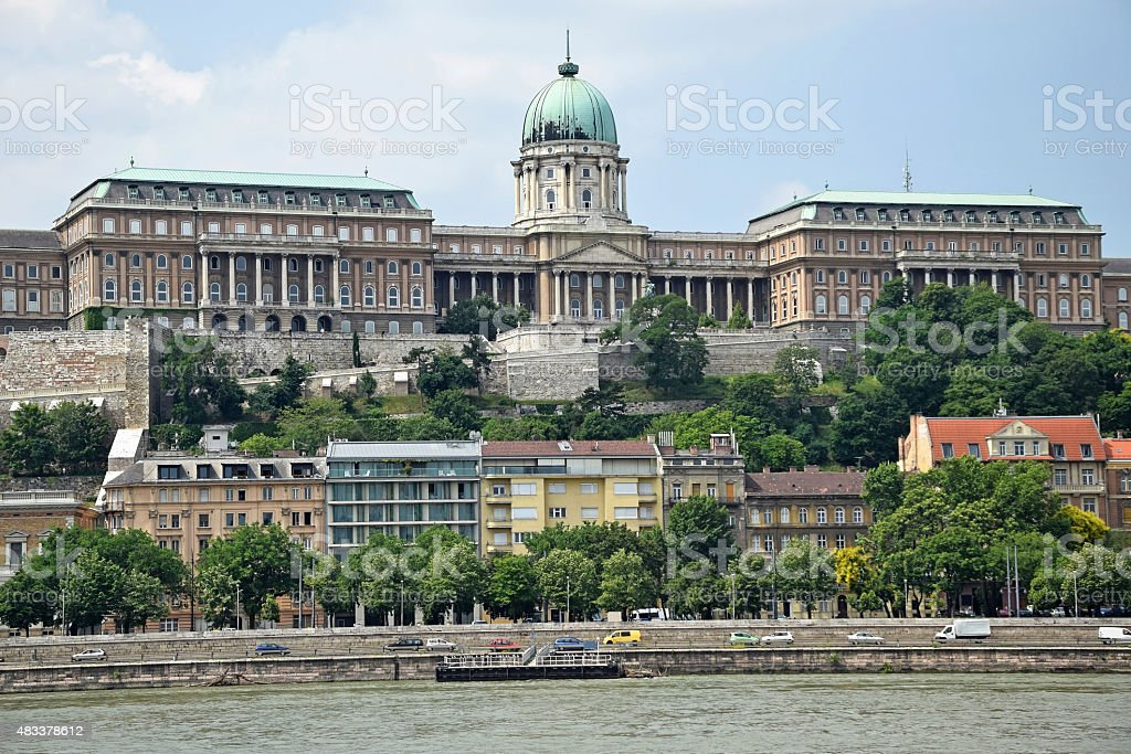 Royal Palace, Budapest, Hungary stock photo