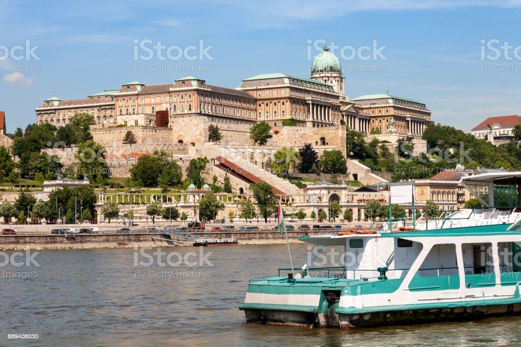 Royal Palace, Budapest stock photo