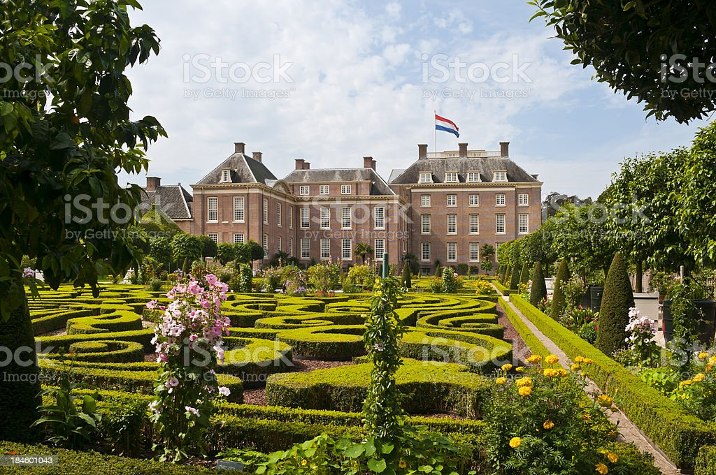 Royal Palace het Loo stock photo