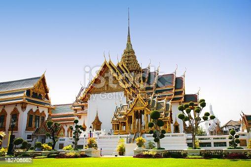 Royal Palace in Bangkok, Thailand.