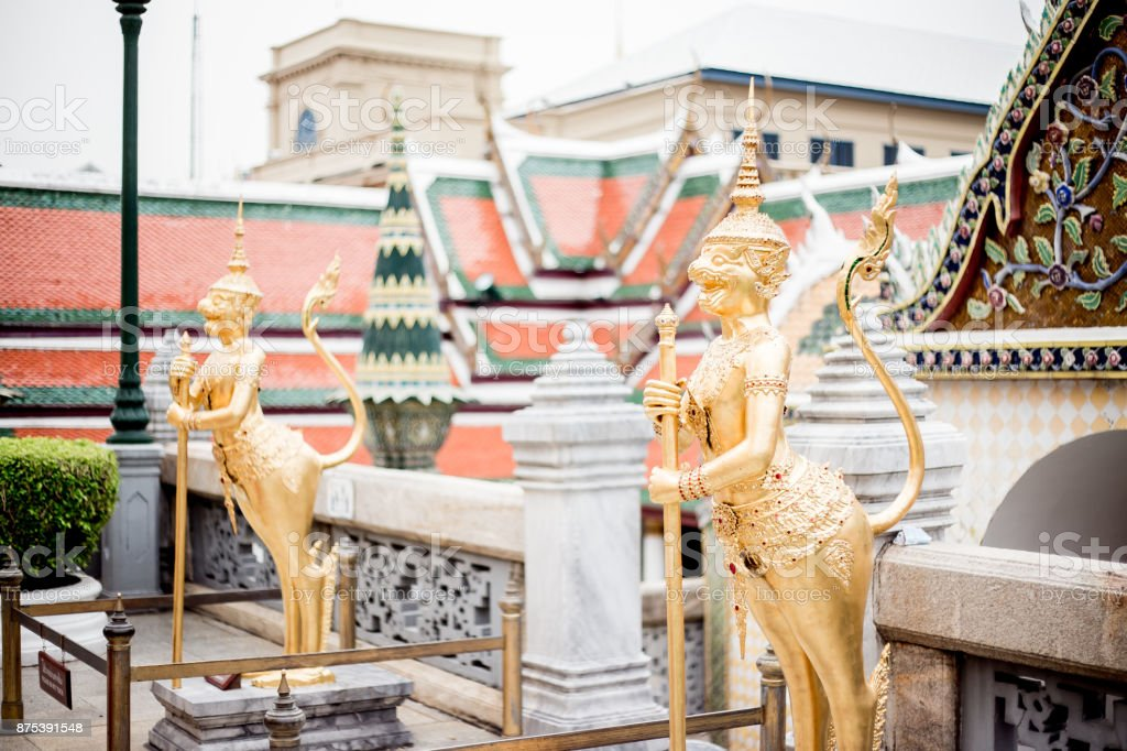 Koninklijk Paleis in Bangkok foto