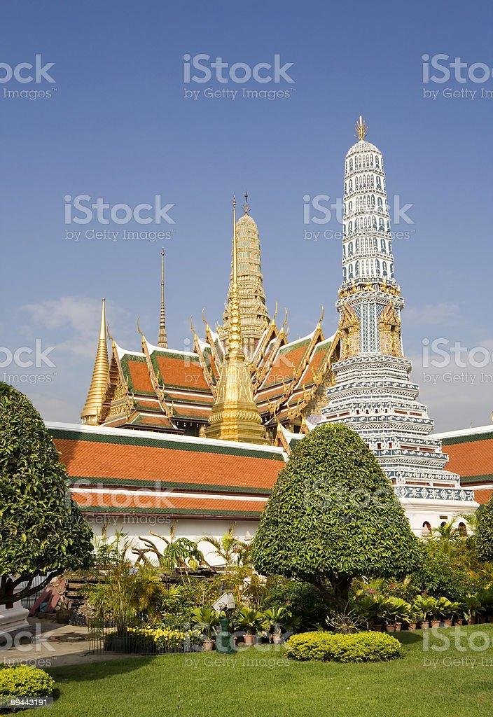 royal palace in bangkok royalty-free stock photo