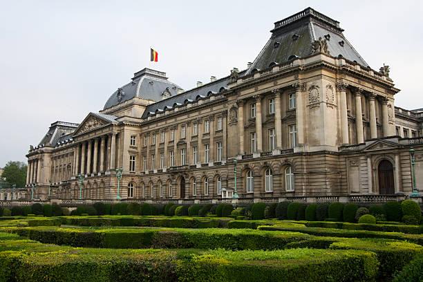 Palacio real de Bruselas - foto de stock