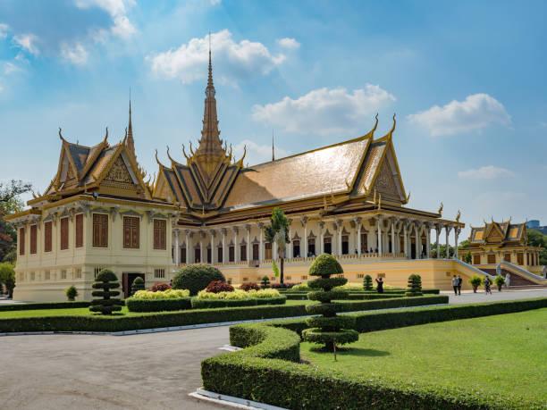 Königspalast in Kambodschas Hauptstadt Phnom Penh – Foto