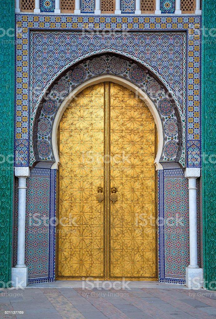 Palais Royal de Fez, Maroc - Photo de Maroc libre de droits
