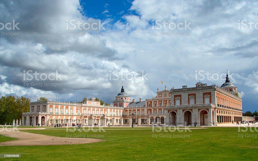 Palacio real de Aranjuez - foto de stock