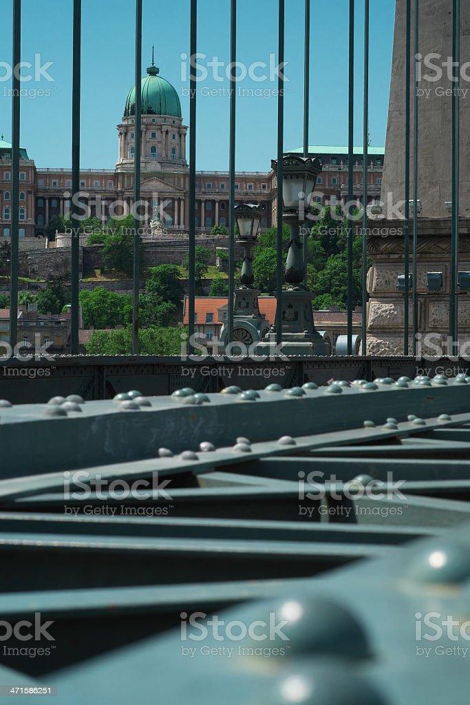 Royal Palace of Buda, Budapest, Hungary royalty-free stock photo