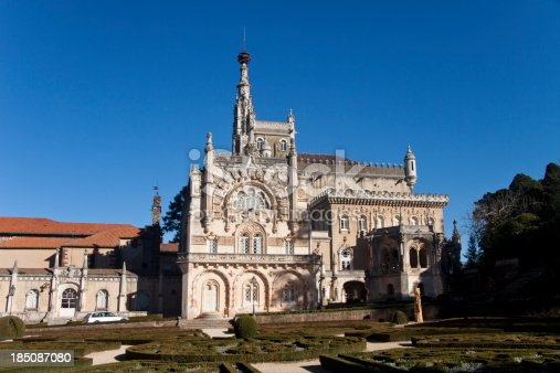 Royal Palace of Bussaco in the centre of Portugal