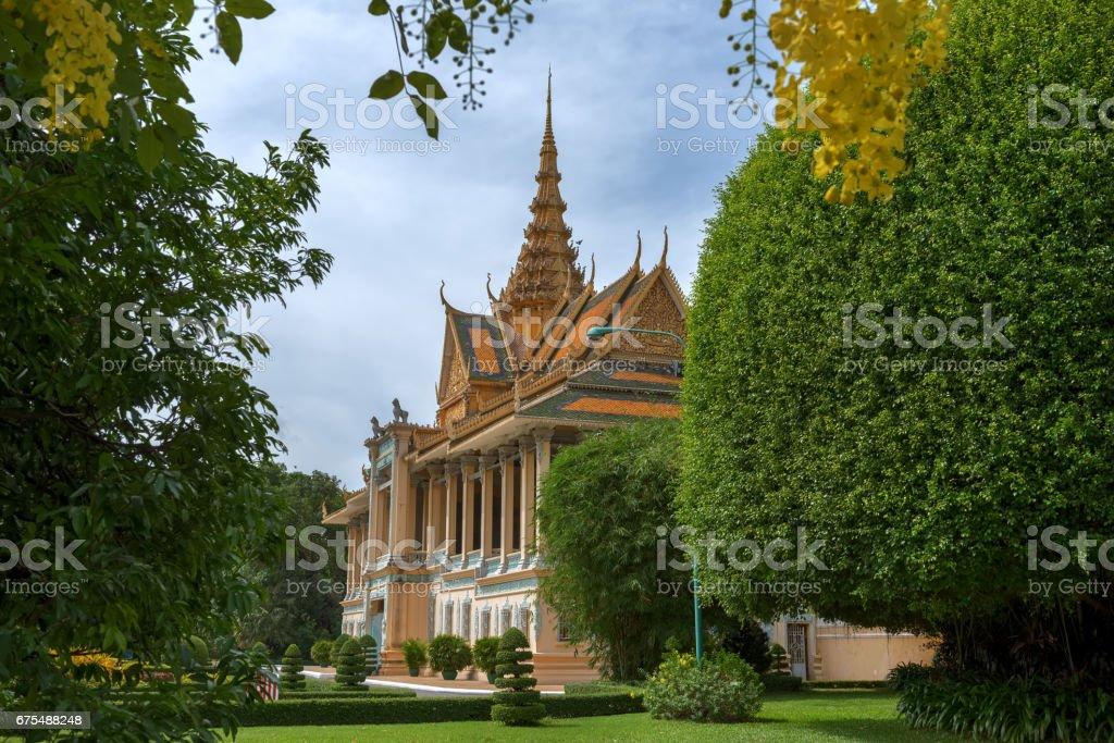 Kamboçya Kraliyet Sarayı royalty-free stock photo