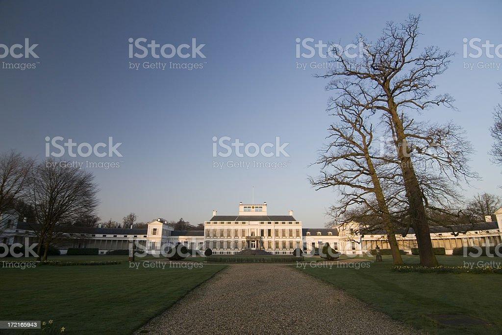 Royal Palace Paleis Soestijk royalty-free stock photo