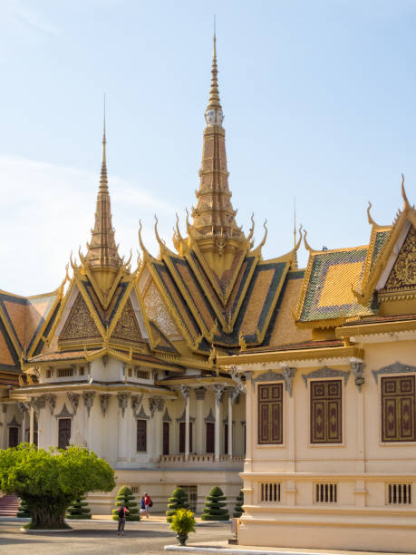 Royal Palace - Phnom Penh stock photo