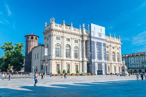 istock Royal Palace (Palazzo Madama e Casaforte degli Acaja). 1160255368