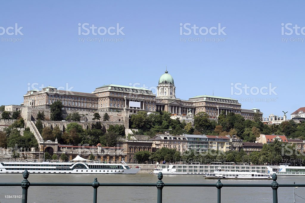 Royal Palace royalty-free stock photo