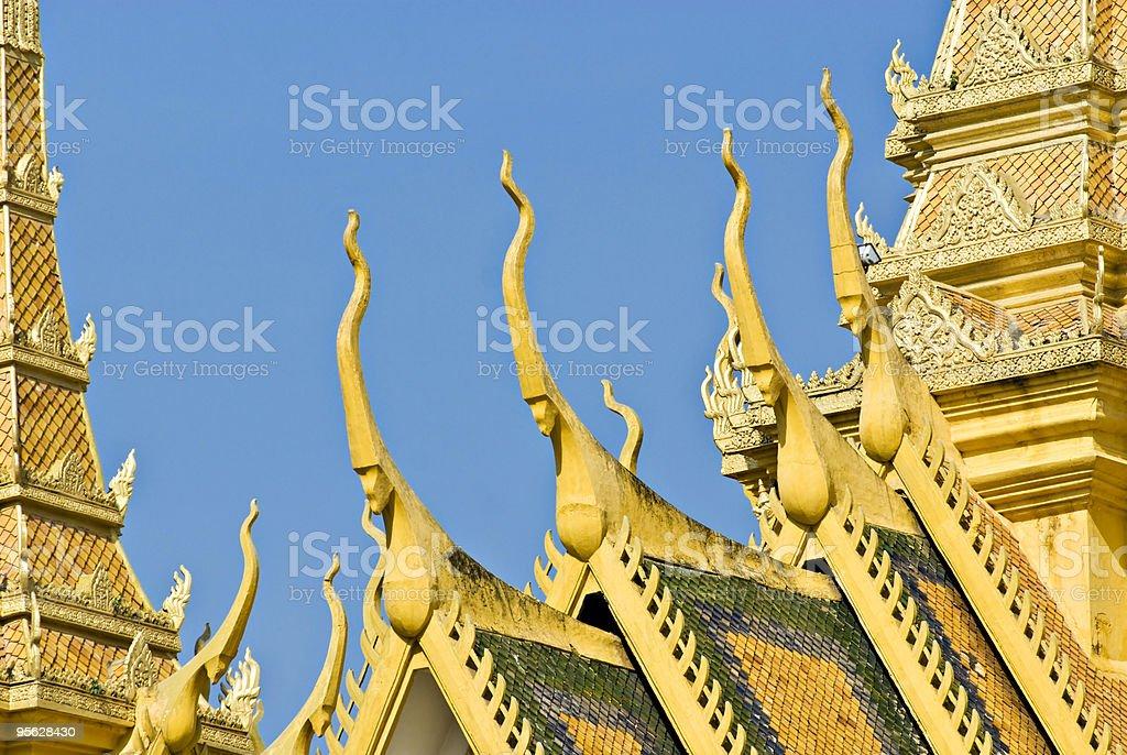 Royal palace, Pnom Penh. royalty-free stock photo
