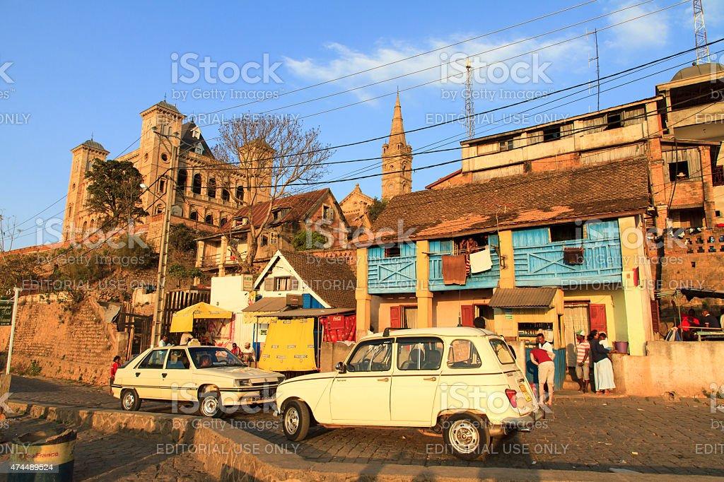 Palais Royal street Antananarivo - Photo