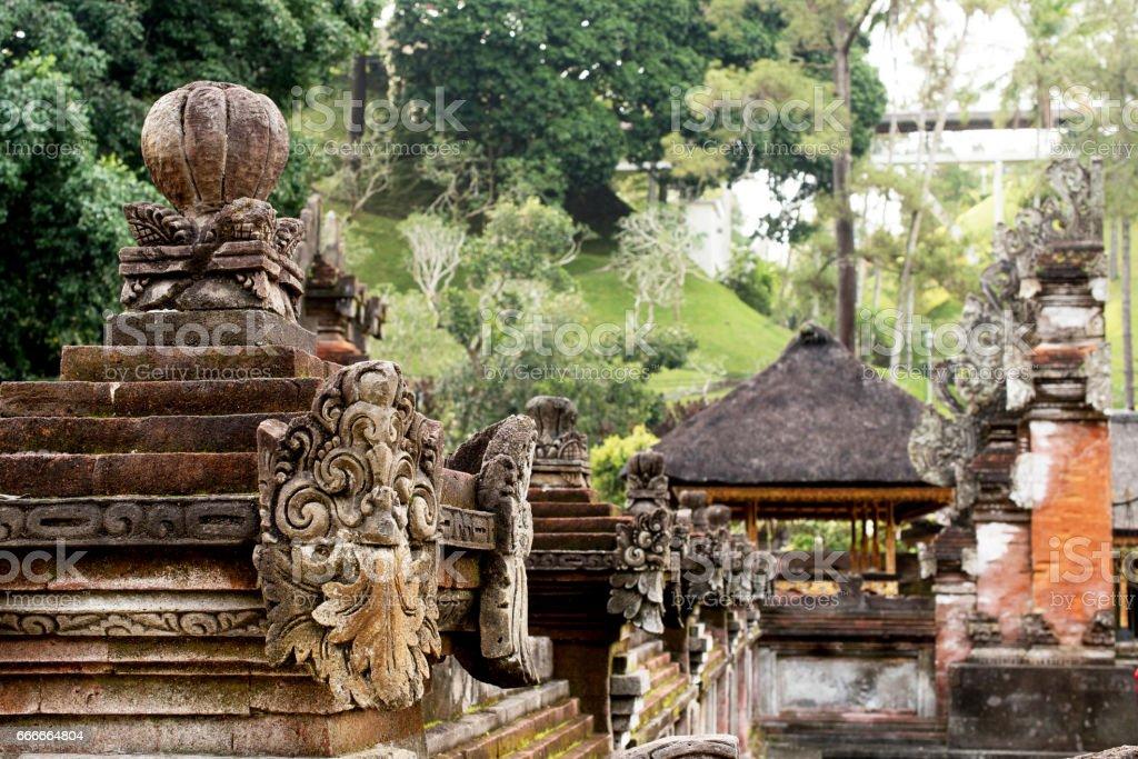 Royal Palace, Ubud Bali, Indonesia, UNESCO World Heritage Centre stock photo