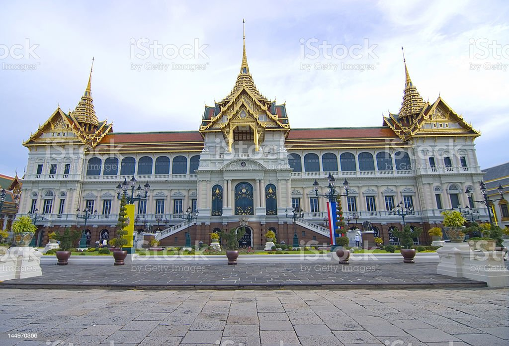 Royal Palace,Thailand royalty-free stock photo