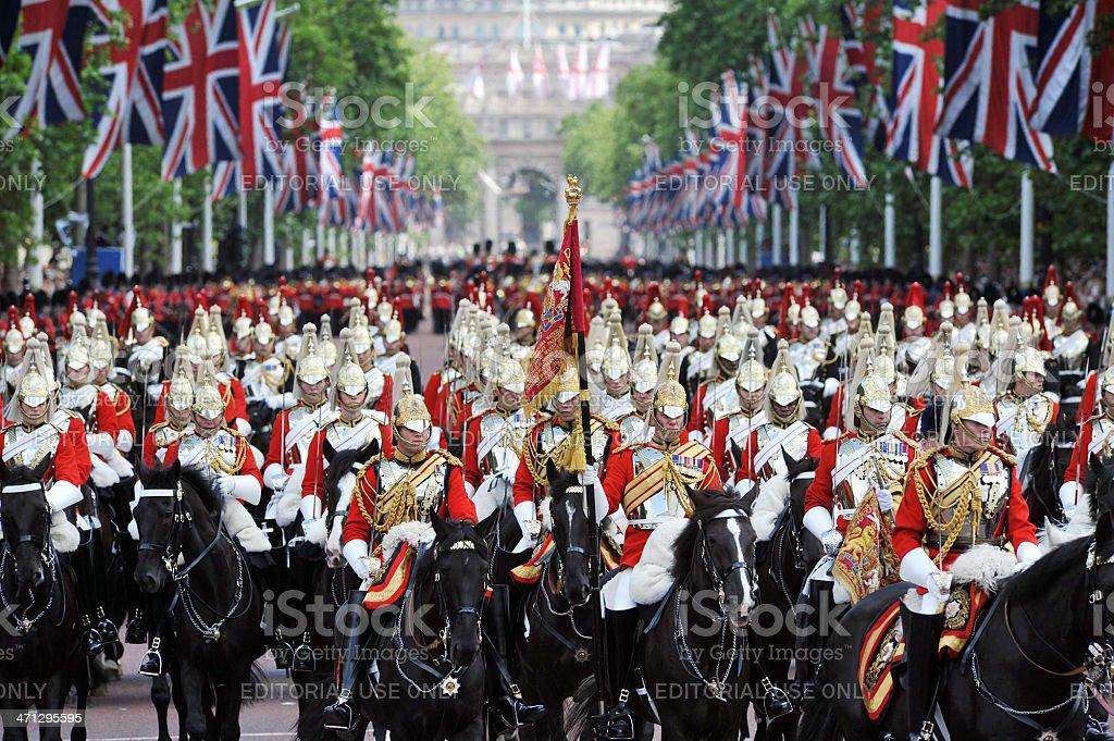 Desfile Real de Londres - foto de acervo