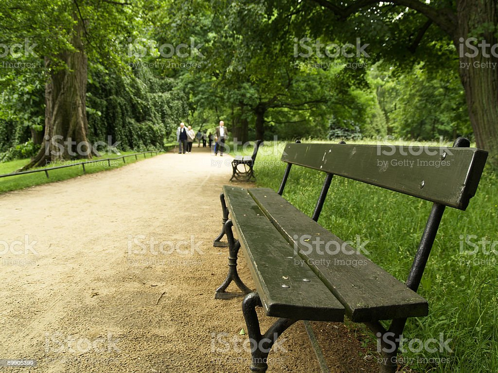 Royal Park royalty-free stock photo