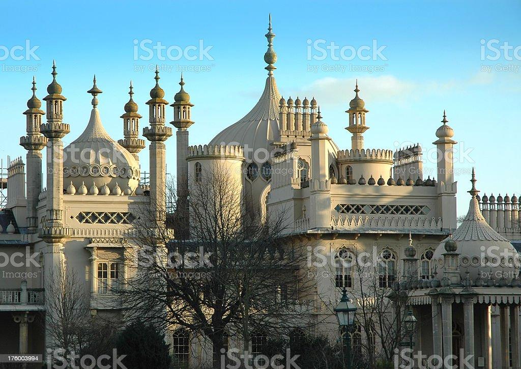 Royal Pavilion, Brighton royalty-free stock photo