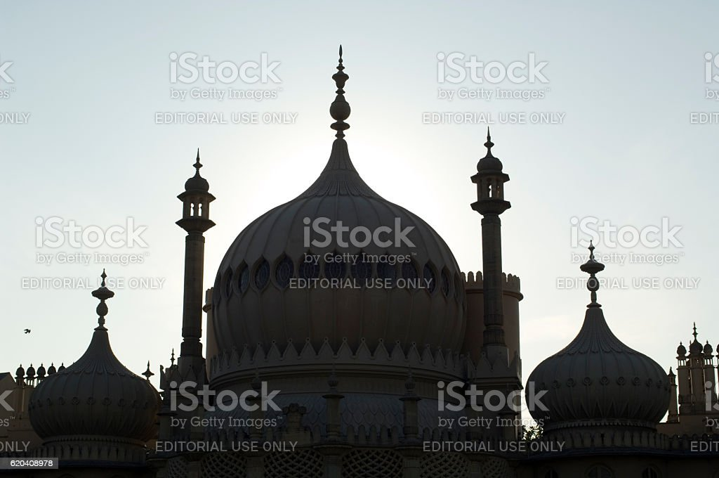 Royal Pavilion Brighton, UK stock photo