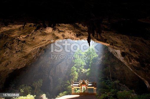 Royal Pavilion in Phraya Nakhon Cave, Prachuab Khiri Khan Province, Thailand.