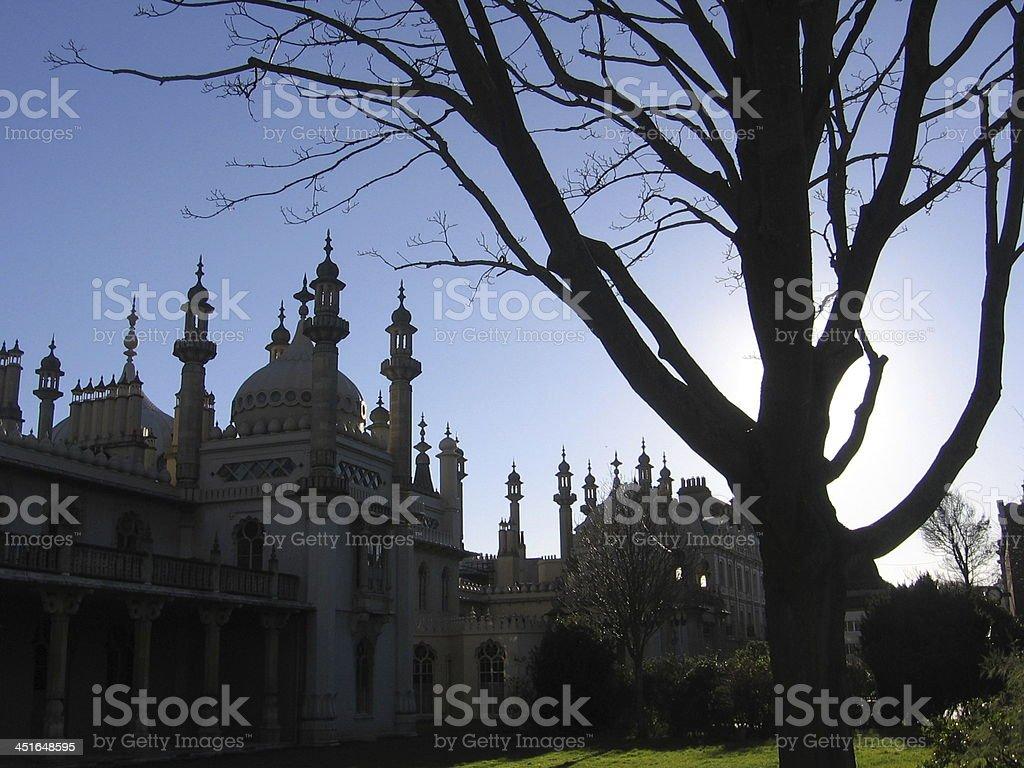Royal Pavilion. stock photo