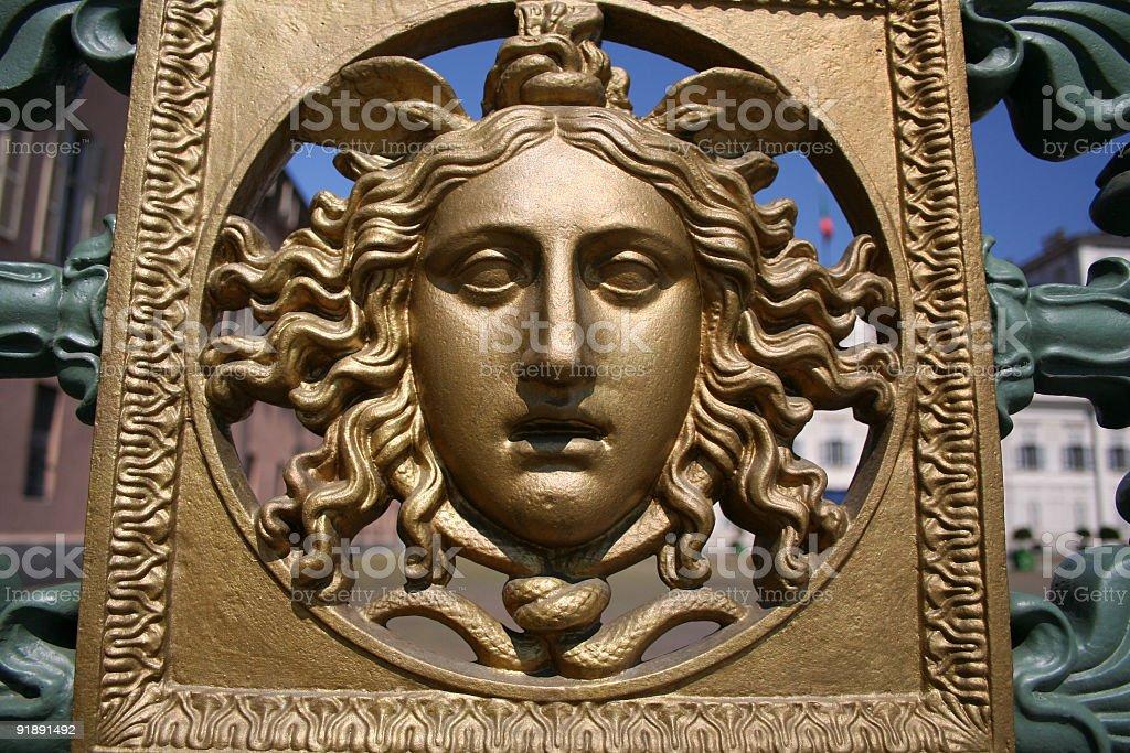 Royal railing royalty-free stock photo
