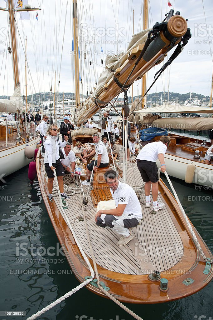 Regates Royale de Cannes royalty-free stock photo