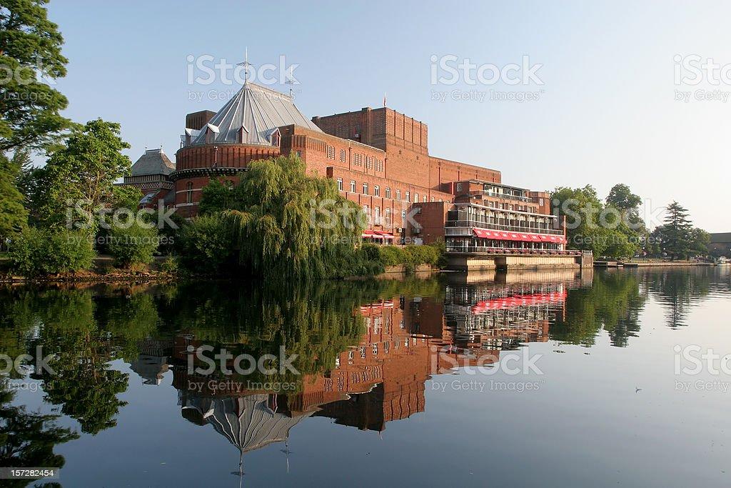 Royal Shakespeare Theatre, Stratford royalty-free stock photo