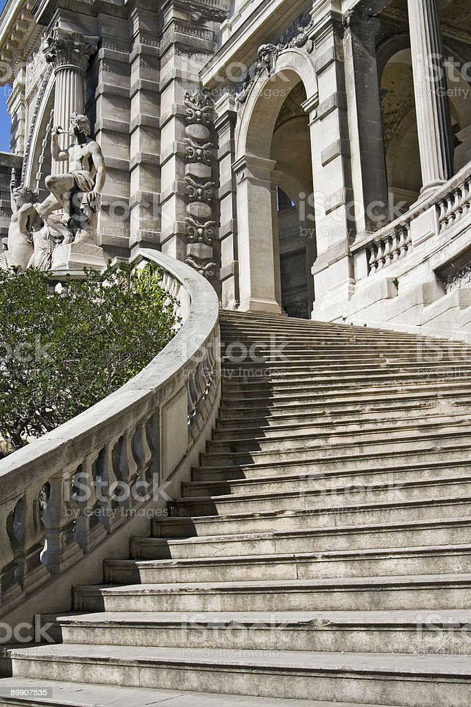 Royal Stairway stock photo