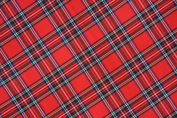 Royal Stewart tartan  plaid stock pictures, royalty-free photos & images