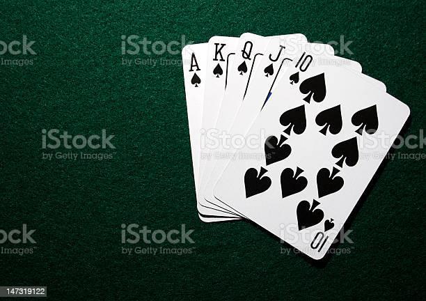 フラッシュ ストレート ポーカー ロイヤル