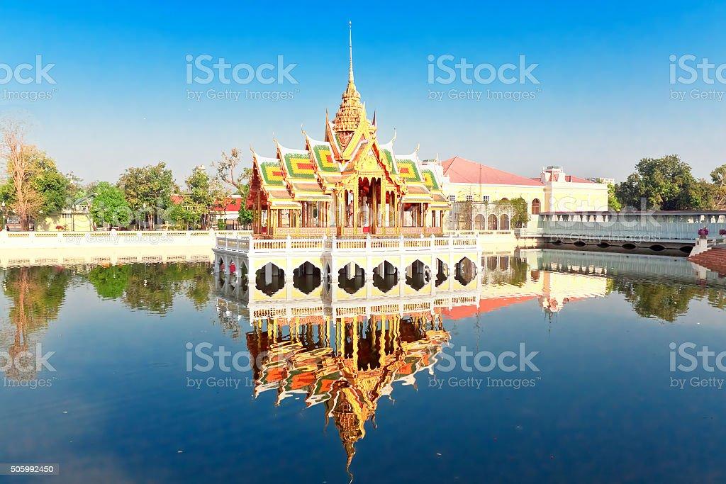 Royal Summer Bang Pa-In Palace near Bangkok, Ayutthaya province stock photo