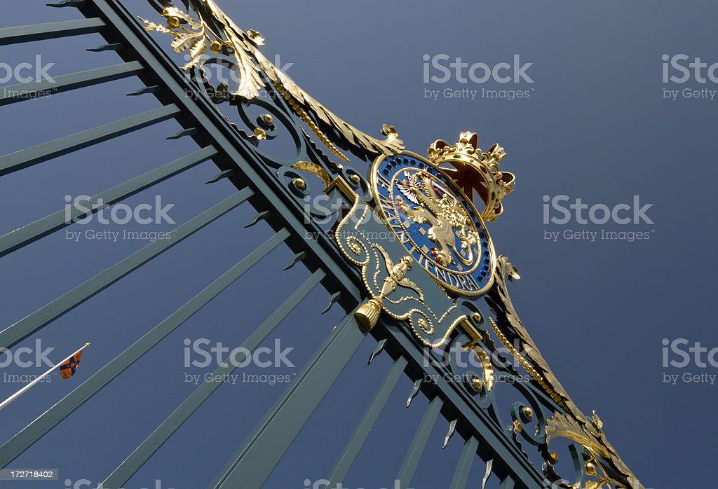 Royal Symbols royalty-free stock photo