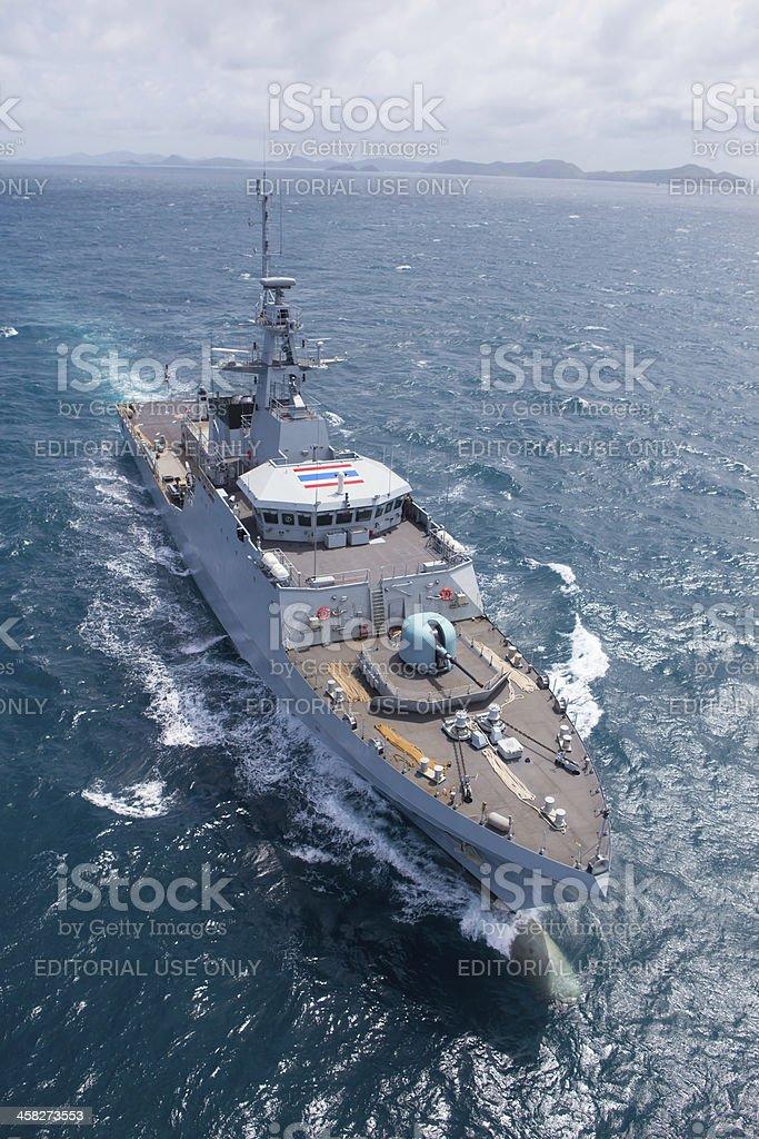 Royal Thai-Navy test Schiff – Foto