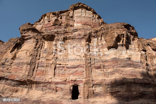 Royal Tomb Petra Jordan Stock Photo & More Pictures of Ancient
