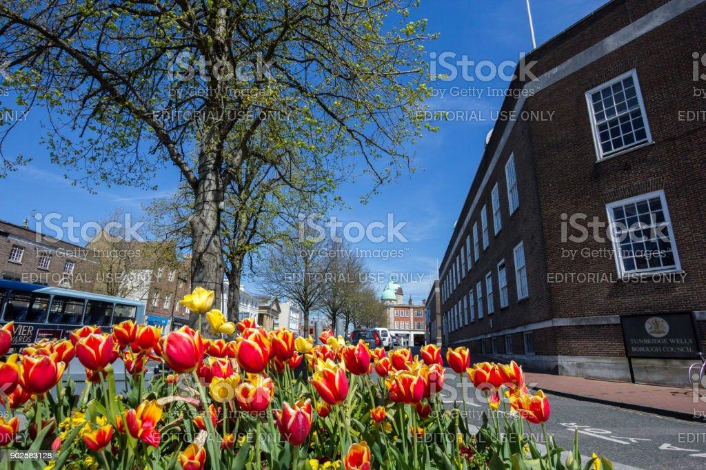 Royal Tunbridge Wells in Kent, England stock photo