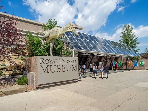 Museo Royal Tyrrell - foto stock