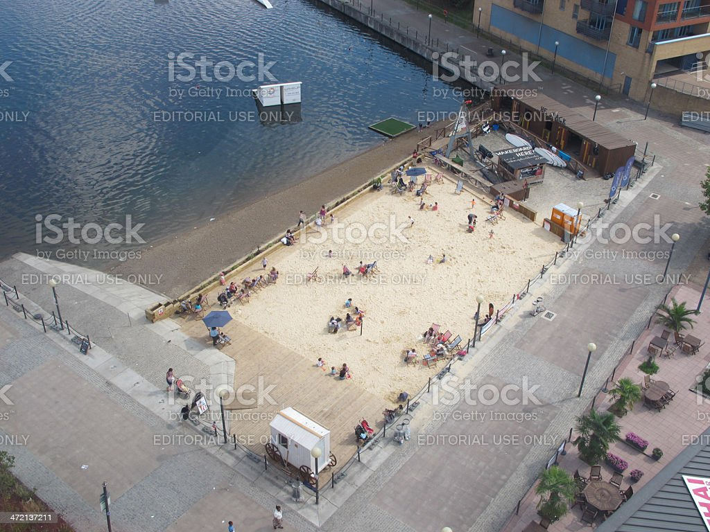 Royal Victoria Beach royalty-free stock photo