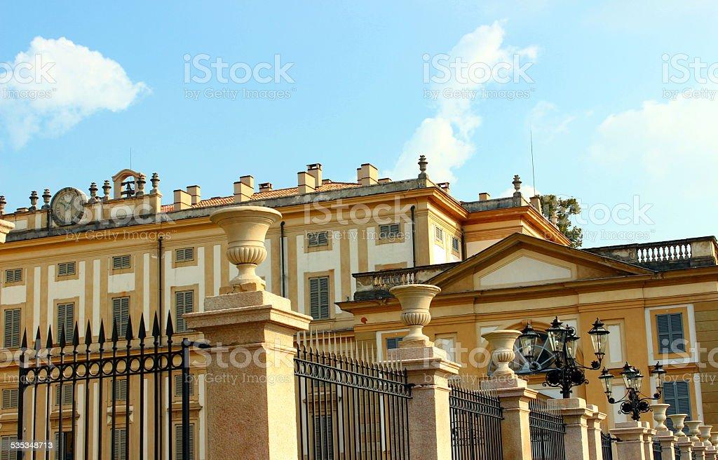 Villa Reale in Monza stock photo