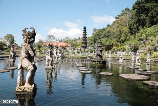 Tirtagangga royal water garden, Bali