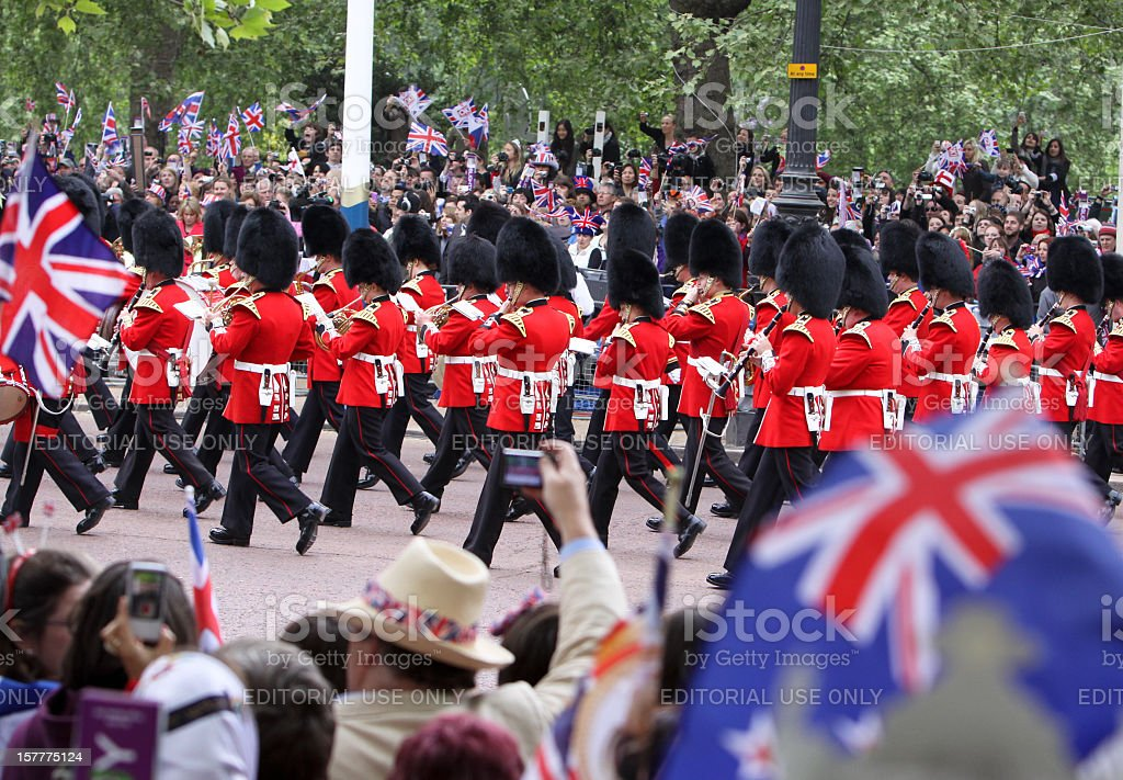 Königliche Hochzeit in London, England – Foto