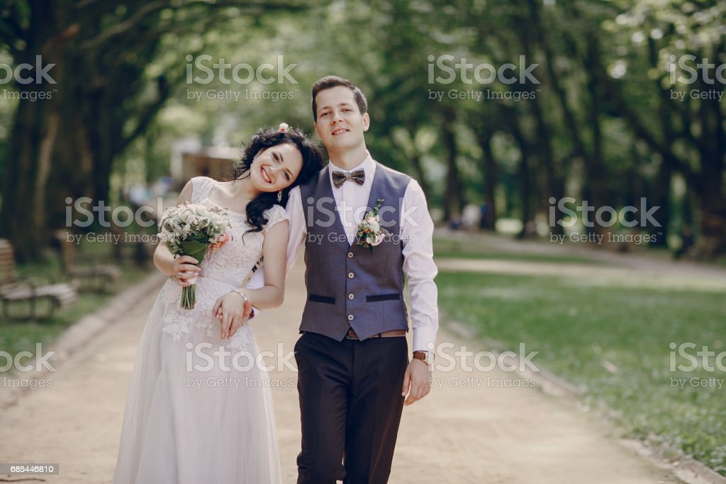 Royal wedding in the old town foto de stock royalty-free