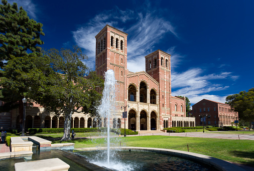 Royce Hall At Ucla Stock Photo - Download Image Now